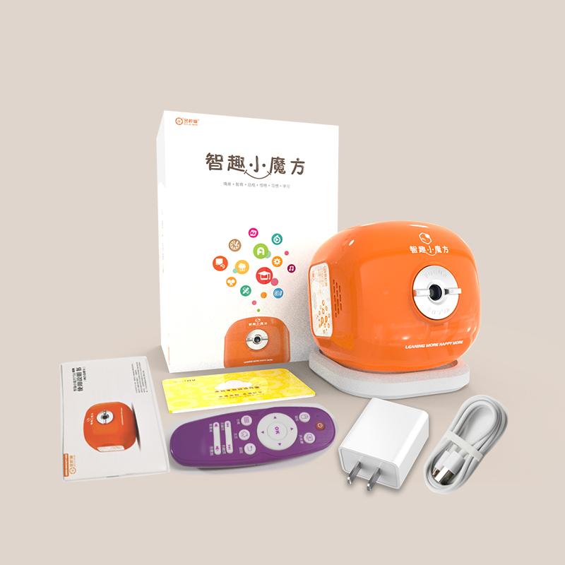 智趣小魔方投影仪儿童宝宝幼儿视频机益智玩具学习机0-12岁早教机
