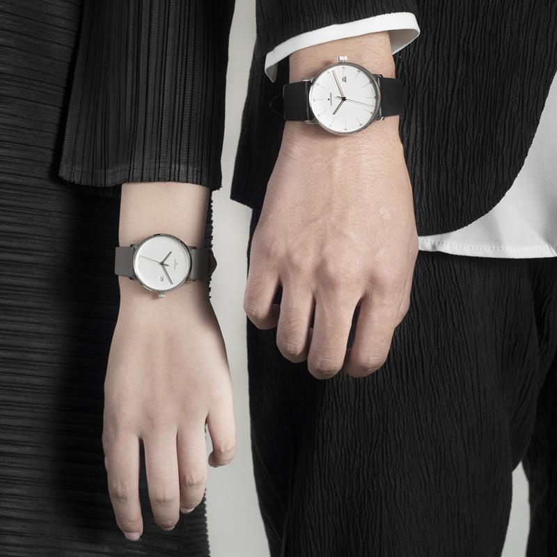 新款德国腕表荣汉斯FORM石英皮带防水时尚简约腕表手表dw情侣款