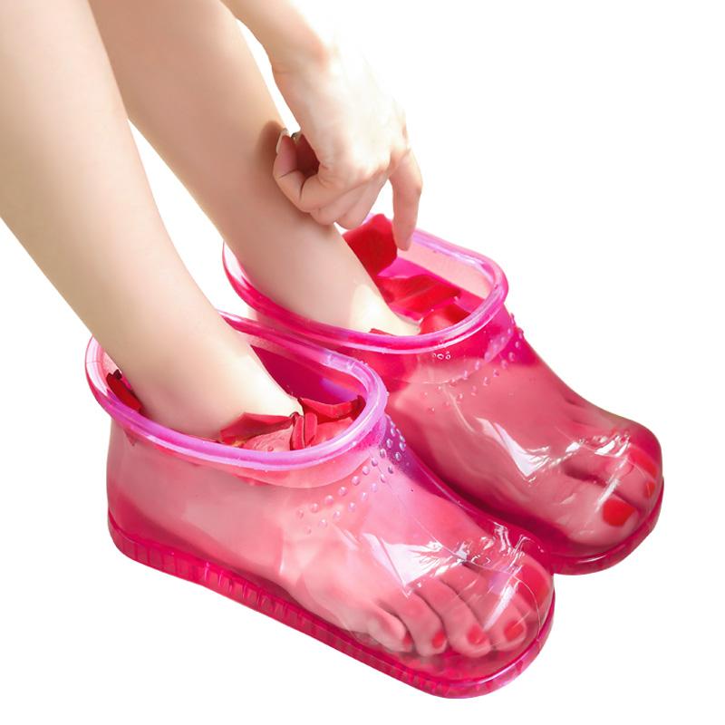 倍喜多泡脚桶足浴盆足浴桶洗脚家用塑料脚盆足浴鞋泡脚鞋泡脚神器