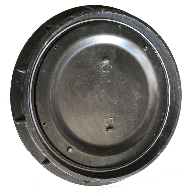 加油站井盖重型中石化专用油罐人孔井盖防水防静电复合smc承重900
