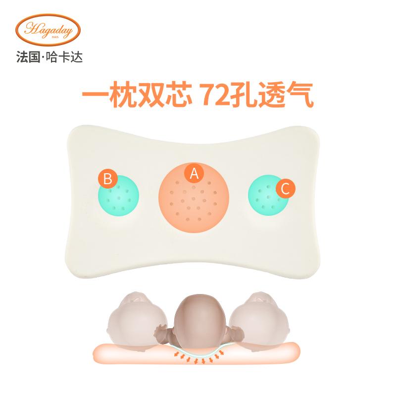 宝宝枕头婴儿记忆枕小孩幼儿园0-1-3-6岁儿童夏季透气四季通用枕