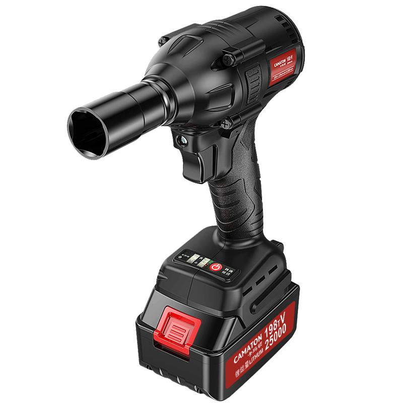 无刷电动扳手锂电架子工木工专用风炮套筒充电式冲击扳手 卡玛顿