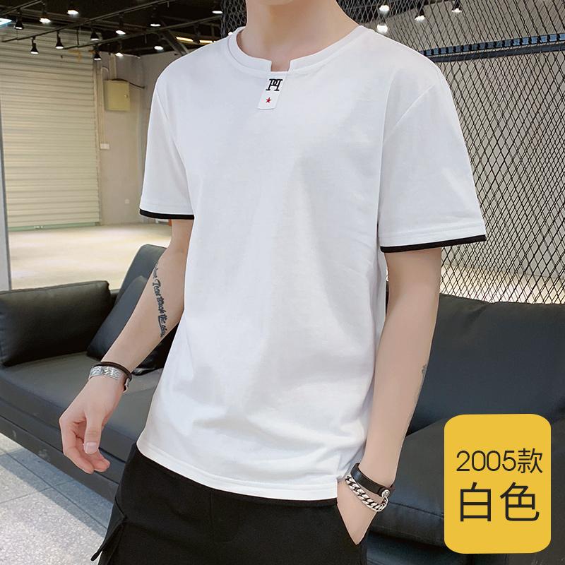 男士休閑運動套裝潮流韓版秋季青少年學生圓領長袖衛衣一套兩件套