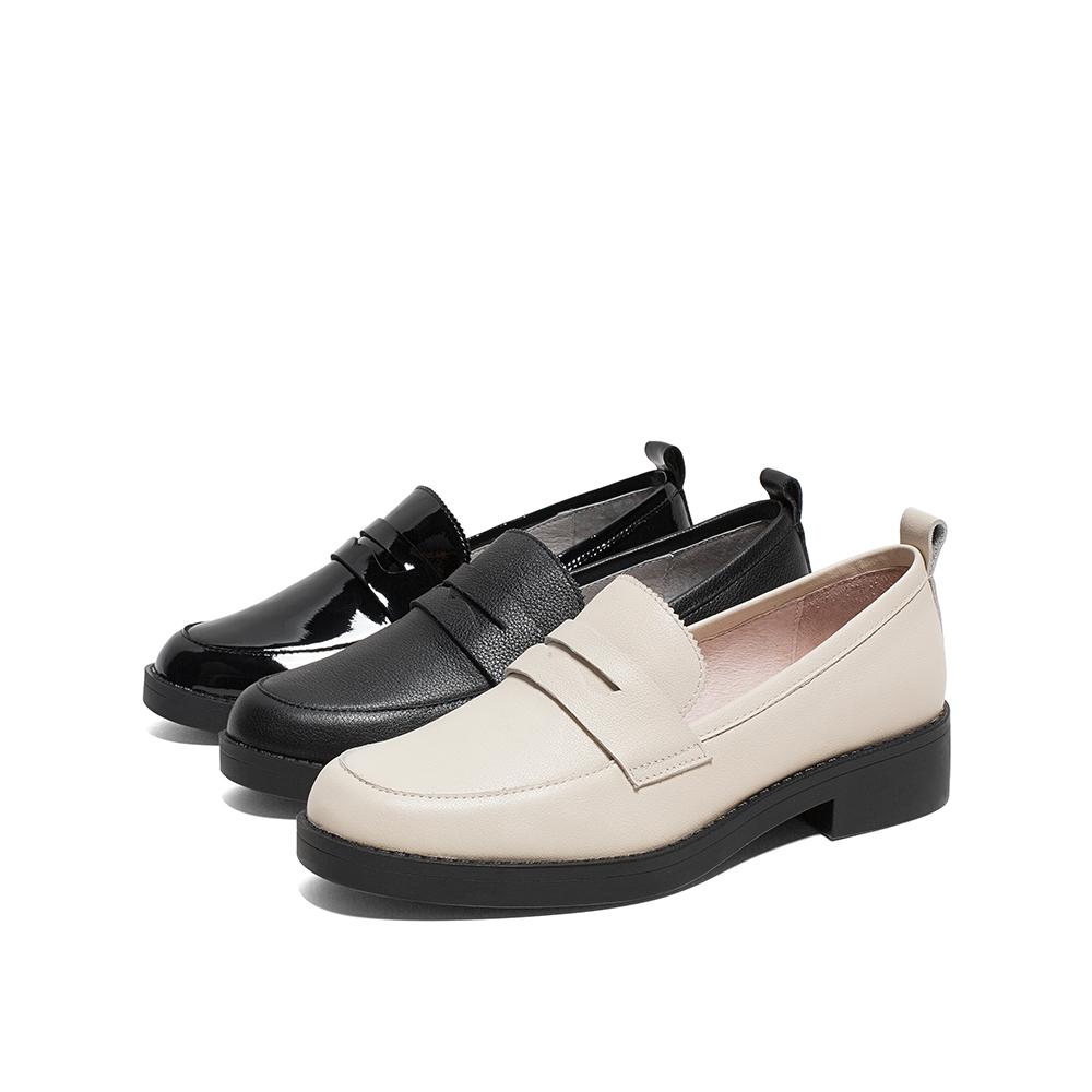 AW121AQ0 春季新款英伦简约单鞋 2020 天美意乐福鞋女 商场同款