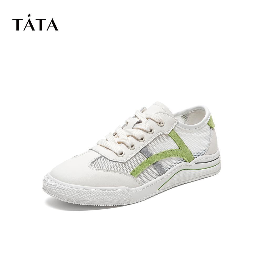 WPP01BM0 运动休闲鞋 ulzzang 商场同款网纱板鞋女韩版 2020 他她 Tata