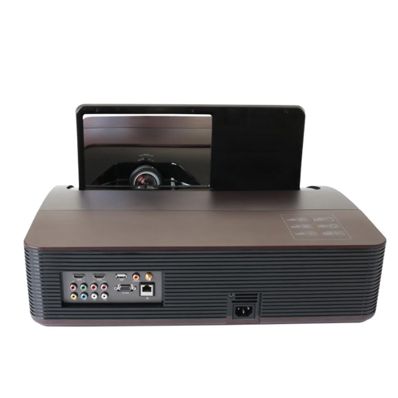 轰天炮ZB-S666超短焦投影仪家用办公小型投影机3D家庭影院手机WiFi无线同屏全高清真1080P智能4K超清无屏电视