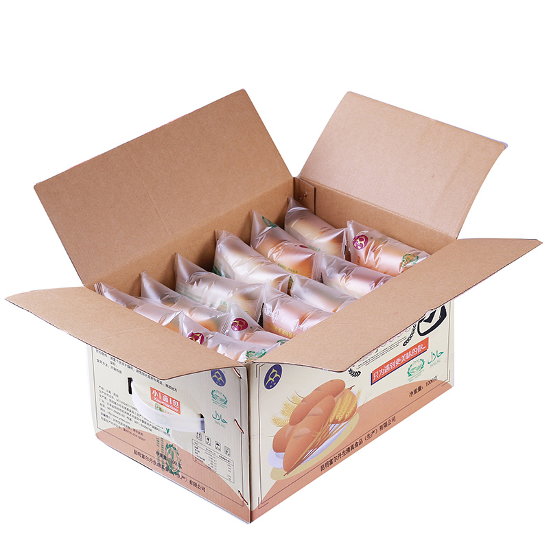 新品云南众穆清真小面包整箱2斤营养早餐食品老面包糕点包邮