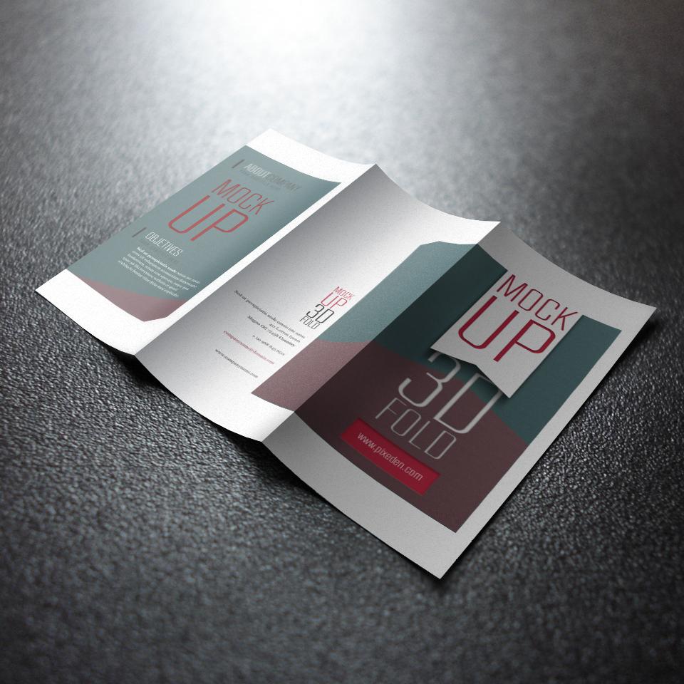 A4A5DM单页广告彩印传单设计宣传单印刷彩页打印制作三折页定做