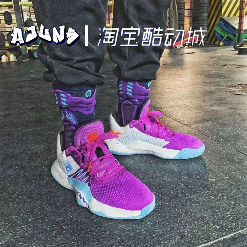 Adidas/阿迪达斯 D.O.N. ISSUE #1米切尔一代蜘蛛侠篮球鞋EF8756【图3】