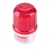 Sound and light alarm LTE-1101J machine tool rotating outdoor sentry box red warning light 24V220vLED flashing