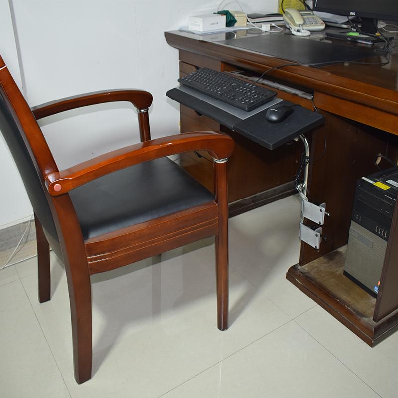 OK託電腦支架頸椎女筆記本用萬向辦公桌面鍵盤滑鼠托架升降多功能