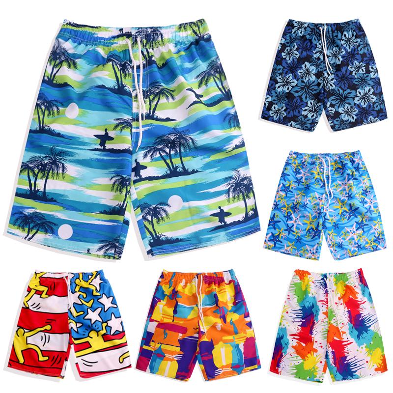 夏海边度假沙滩社会人亲子装三口套装母女母子 全家装纯棉短袖t恤