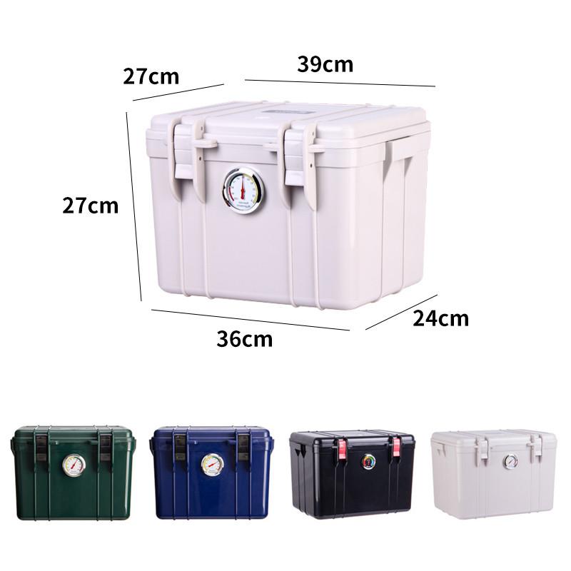 锐玛相机电子防潮箱摄影器材镜头数码收纳箱钱币安全干燥箱盒塑料密封收藏家防潮柜吸湿卡除湿镜头保护箱微单