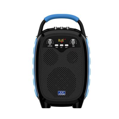 奇声广场舞音响户外K歌无线大功率重低音便携式拉杆蓝牙音箱