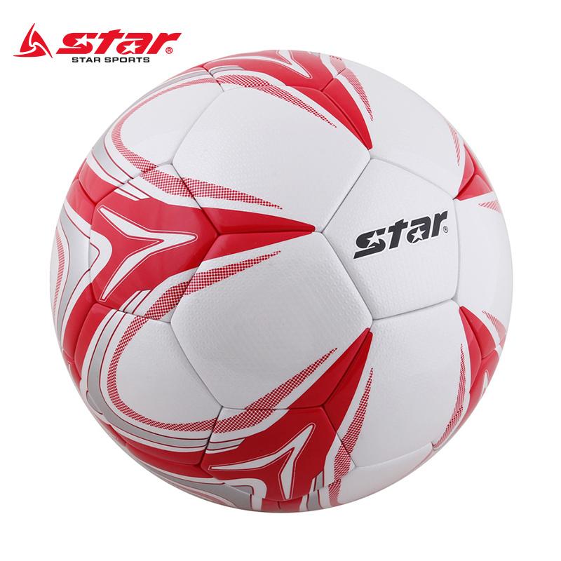 成人足球5号star世达训练比赛五号真皮感四号4号足球儿童小学生
