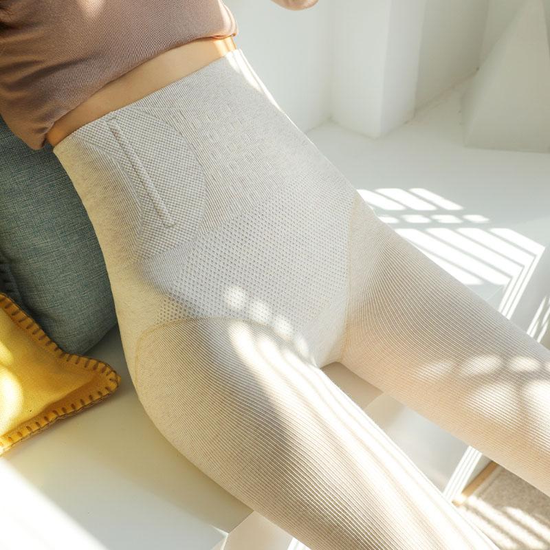 2020新款秋冬季加绒打底裤女外穿薄款灰色内穿秋裤加厚棉裤袜踩脚主图