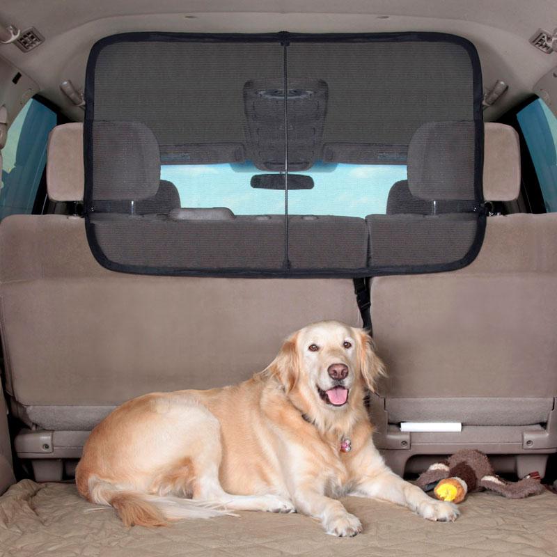 美国Solvit SUV汽车后排座椅宠物屏风 车载狗狗外出用品围栏隔栏