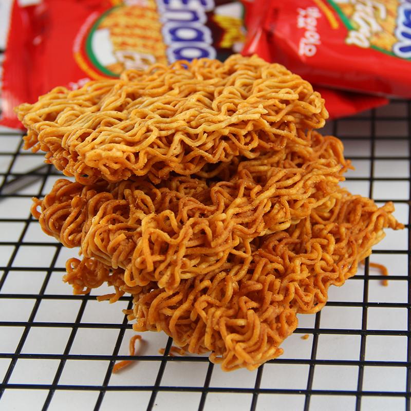 印尼进口GemezEnaak小鸡干脆面30g*24袋整箱网红掌心面点心面零食