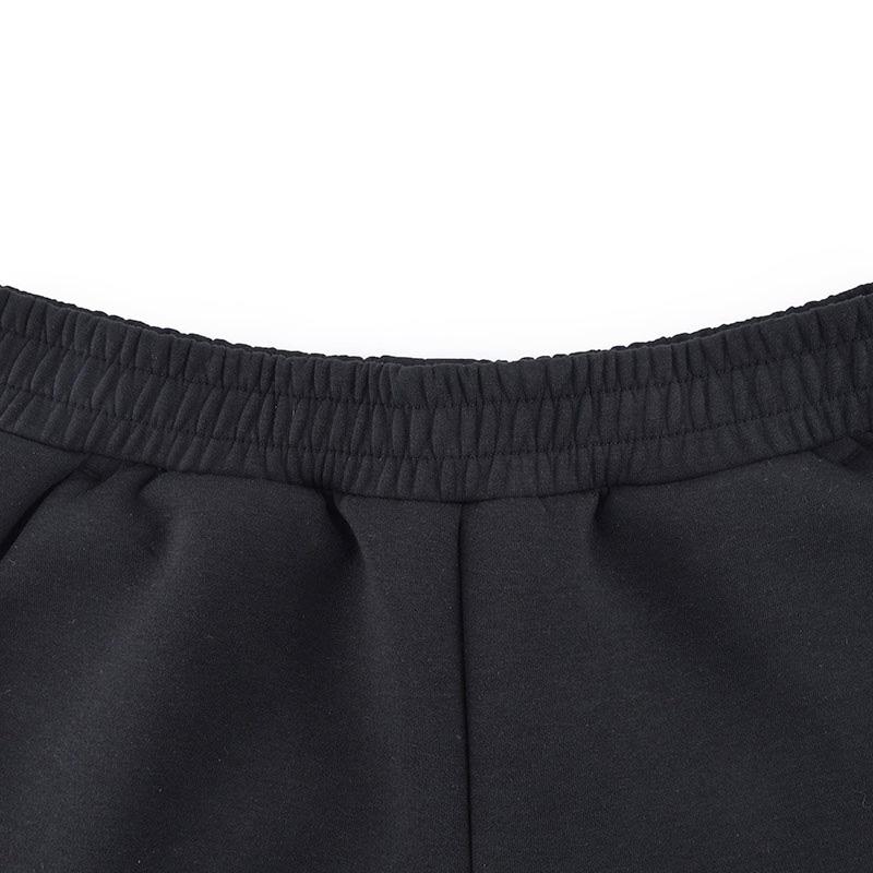 361度女裤2018新款舒适针织长裤361秋季收口运动裤女子小脚针织裤