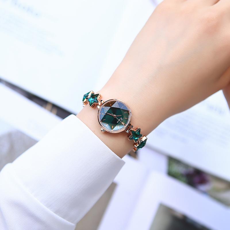 风幸运星历产腕表 ins 手表女款正品女名牌细带小巧气质手表女 kimio