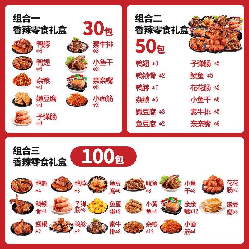 零食大礼包麻辣味网红小吃休闲食品充饥整箱卤味肉送男女朋友礼物 No.3