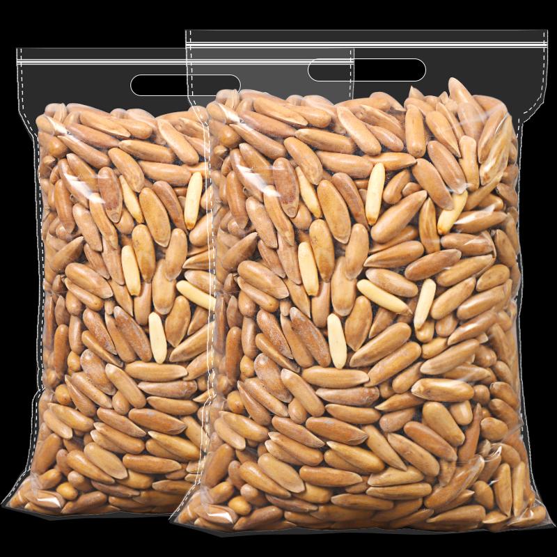 新货手剥巴西松子500g独立小包装袋装原味孕妇儿童零食坚果大颗粒主图