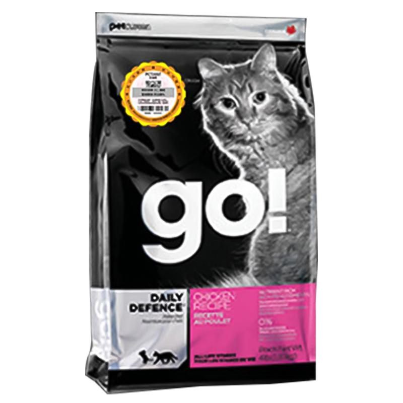 可查防伪加拿大Go! 生命防护系列鸡肉全猫粮有谷天然粮8磅/16磅优惠券
