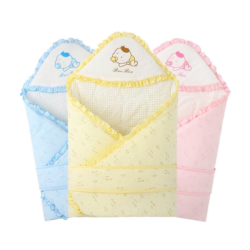 宝然新生儿包被婴儿抱被春秋冬抱毯被子襁褓巾宝宝用品3611
