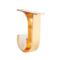 罗马杆顶装支架窗帘盒专用铝合金支架打孔窗帘单支架罗马杆双支架