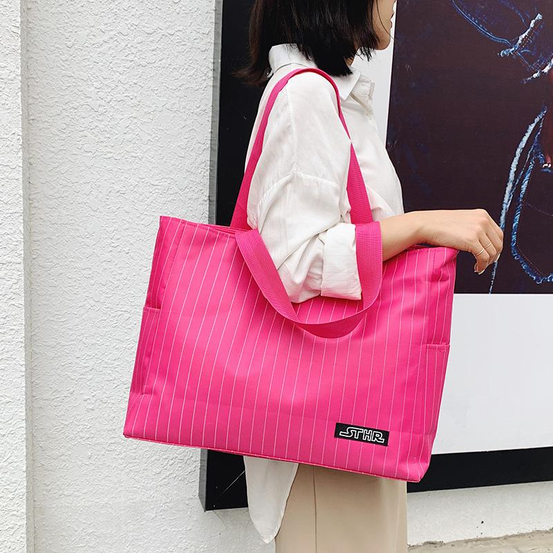 手提旅行包女单肩行李包韩版大容量轻便购物袋包男网红旅游行李袋