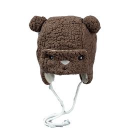 秋冬宝宝儿童帽子1岁男童护耳雷锋帽5女童耳朵毛绒帽新款3-12个月