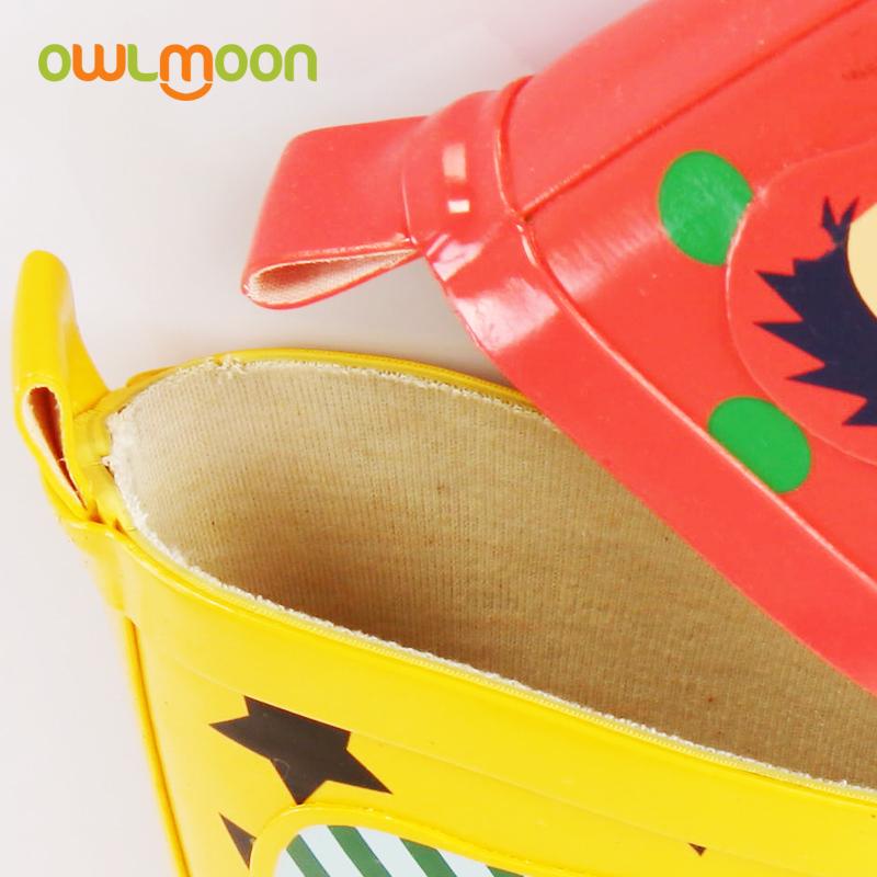 春夏儿童雨鞋可爱防滑男女宝宝雨靴水鞋水靴卡通亲子中筒雨靴潮