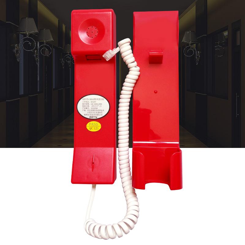 海湾消防电话 GST-TS-100A总线制手提消防电话分机水晶头电话现货