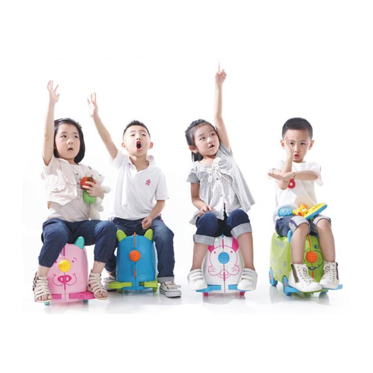 儿童摩托车行李箱宝宝可坐可骑行拉箱婴幼儿拖箱户外旅行箱骑行箱