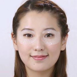 钟丽缇同款可贝尔眼纹消水晶眼贴膜淡化细纹熊猫眼保湿眼膜7对装