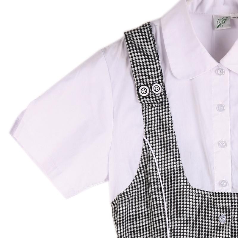 美丽奥校服质量保证 深圳中学女生春夏季女装礼服连衣裙制服裙子