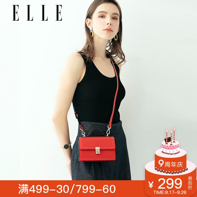 ELLE女包新款斜挎包包62140单肩包小包女手机包迷你手提包女包