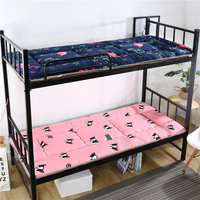 床垫 床褥 床护垫 薄款床褥1.5米1.8m珊瑚绒学生床垫宿舍床垫1.2