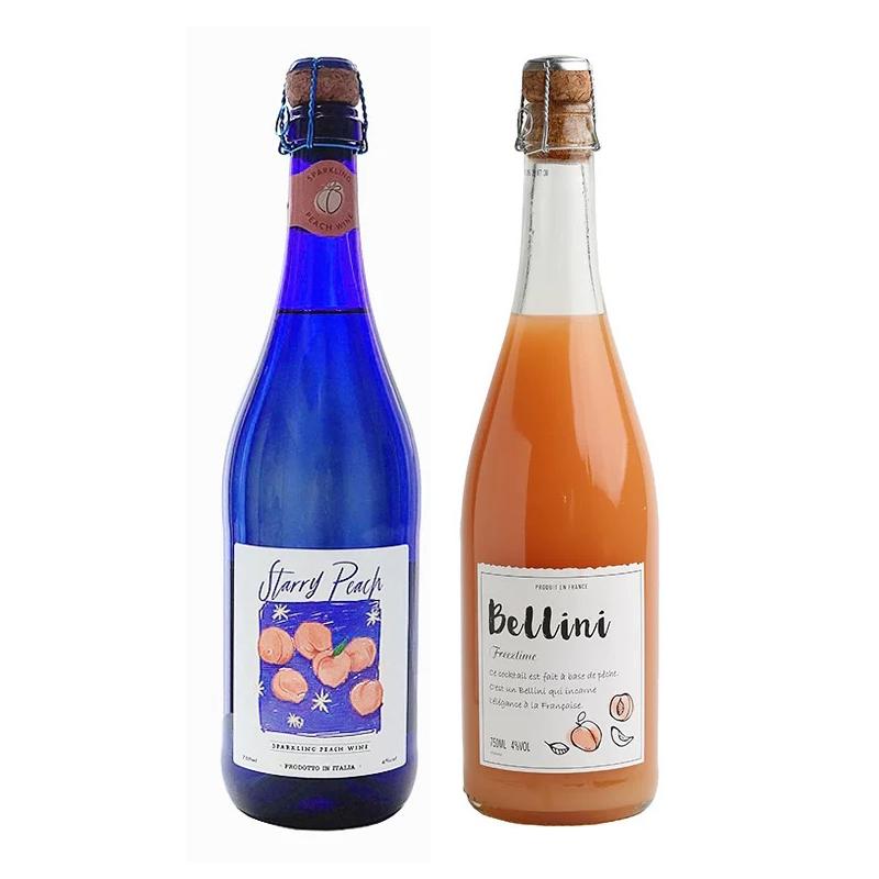 意大利星桃桃子酒 葡乐 桃里桃气少女微醺组合 贝利尼桃子酒果酒