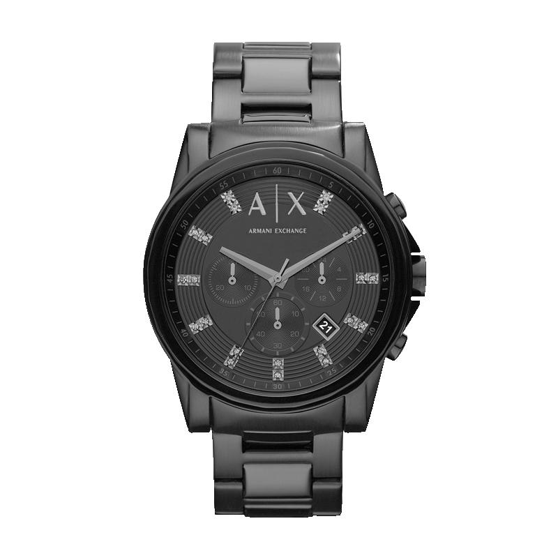 Armani阿玛尼手表男官方旗舰店正品黑武士石英欧美腕表礼物AX2093