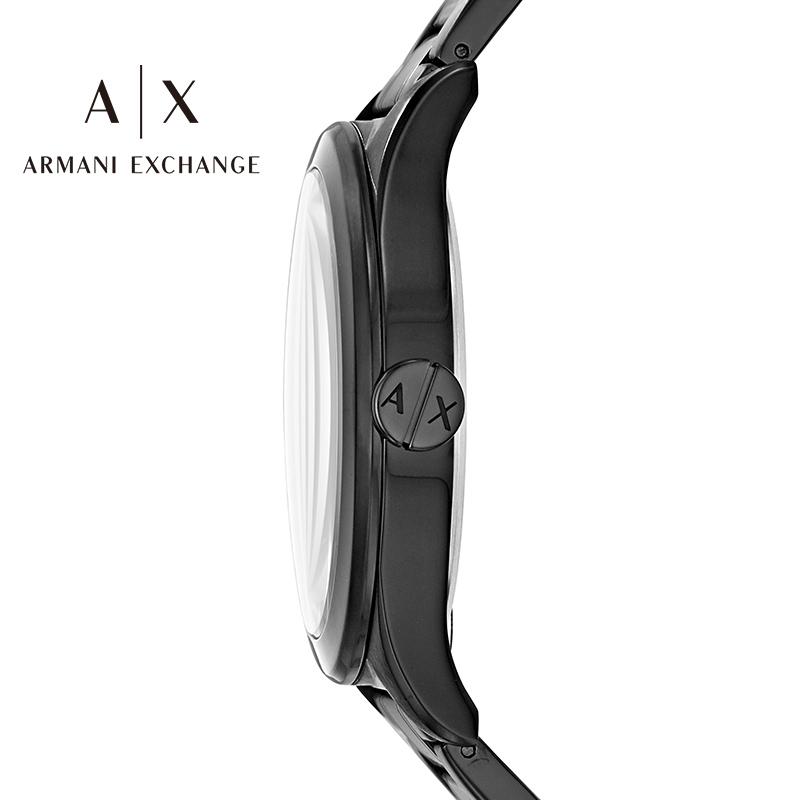 Armani阿玛尼小黑盒系列手表男士腕表石英欧美礼盒AX7102