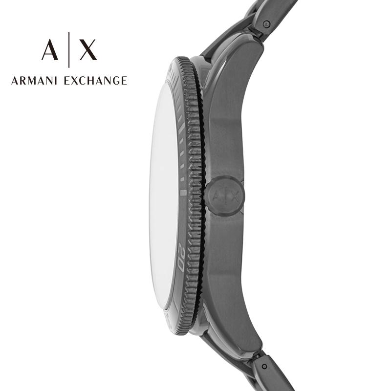 阿玛尼男士手表ArmaniExchange官方旗舰店正品钢带石英腕表AX1826