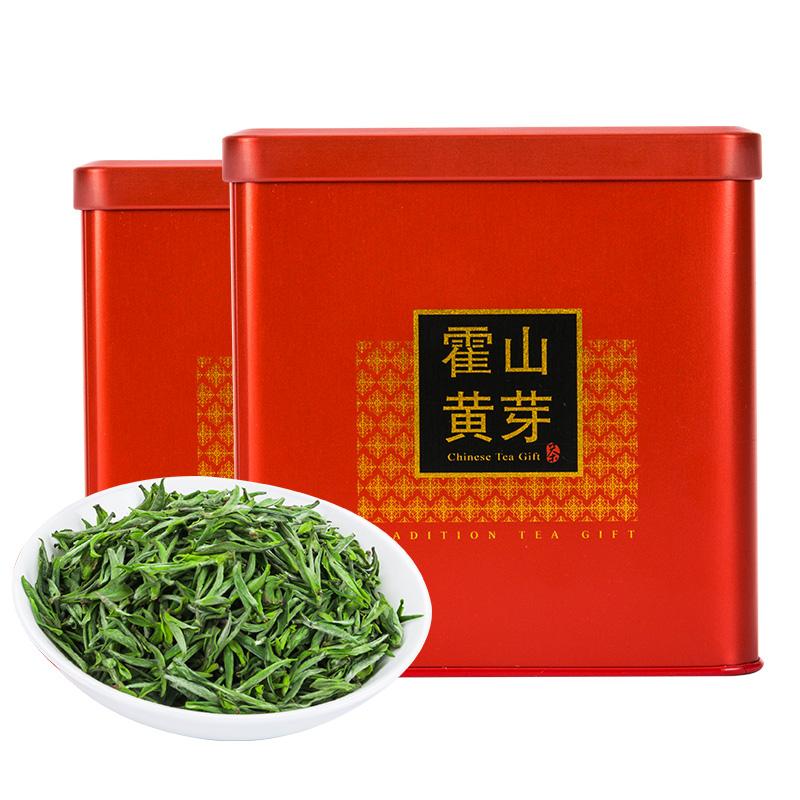 灌装春茶 250g 新茶特级明前头采嫩芽安徽高山手工黄茶 2019 霍山黄芽