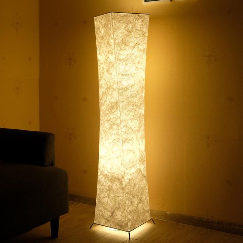 氛围客厅卧室新中式欧式折叠立灯 RGB 创意个姓智能 LED 软体落地灯