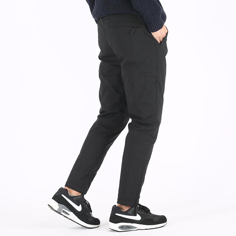 白鸭绒保暖裤长裤潮 90 羽绒裤男外穿加厚青年棉裤修身运动裤小脚裤
