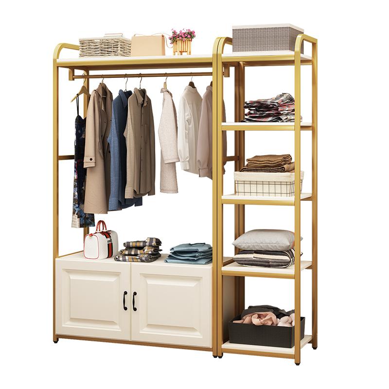 衣帽架落地簡約現代北歐臥室衣架房間儲物架多功能家用簡易掛衣架