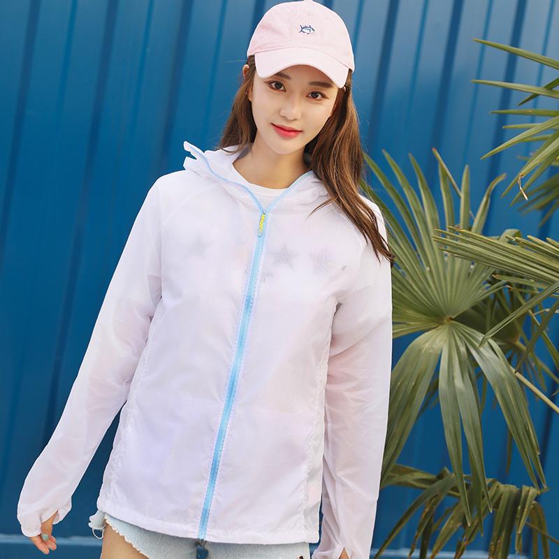 防曬衣男女夏季輕薄透氣釣魚防曬服皮膚衣女打底衫 diet lets 韓國