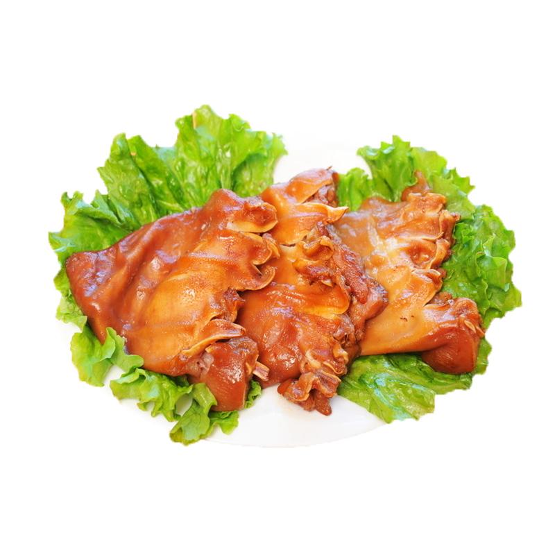 250g 真空包装即食下酒菜卤味猪耳猪头肉零食 500g 五香猪耳朵熟食