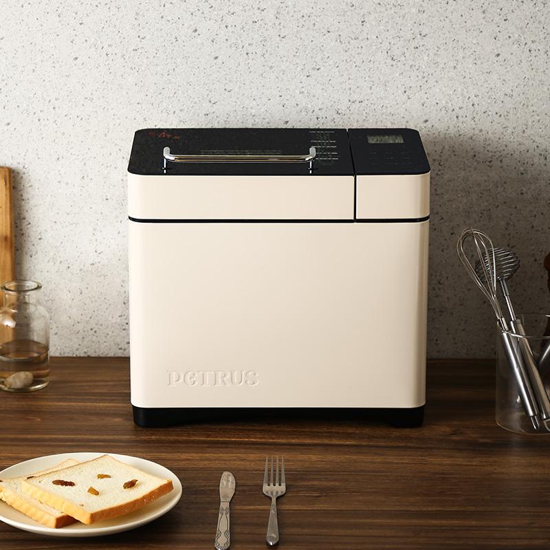 柏翠PE9600WT面包机家用全自动小型多功能烤早餐吐司揉和面机发酵