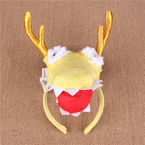 儿童节幼儿园游戏表演道具狮子老虎企鹅大象蜜蜂动物头箍头饰手套